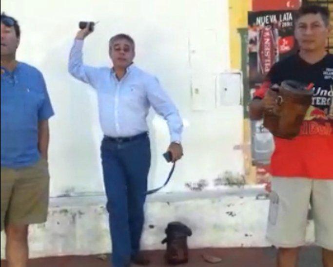 Raúl Mendoza fue noticia recientemente porque intentó agredir a una mujer.