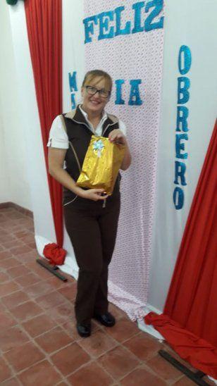 La profe Juana Barreto.