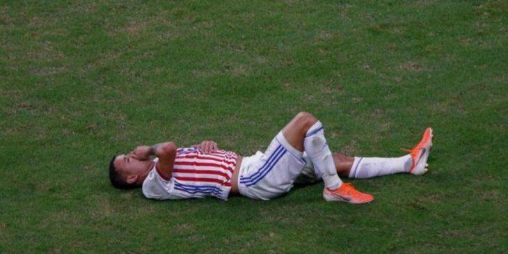 Al jugador de la Albirroja falló el quinto penal.
