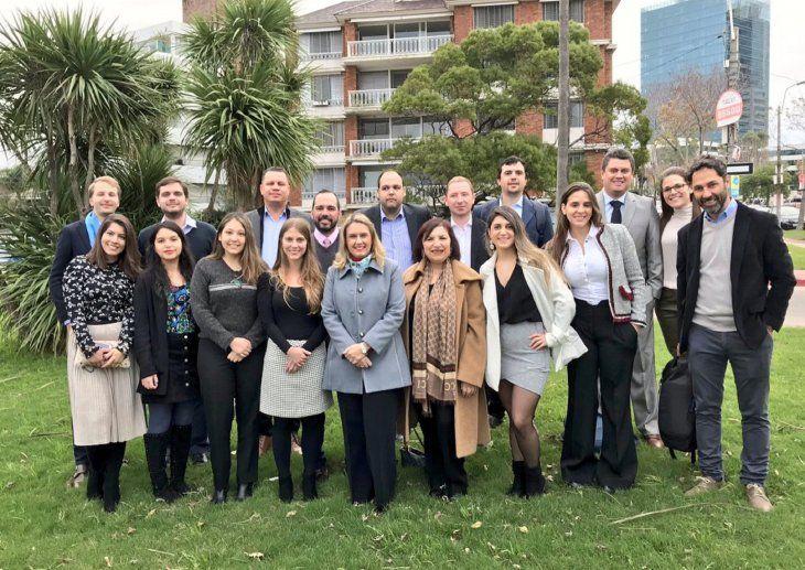 La diputada Rocío Vallejo es parte de la delegación de observadores internacionales
