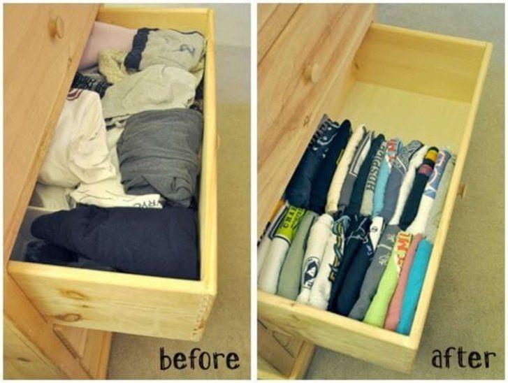Ahorrá espacio para no comprar muebles