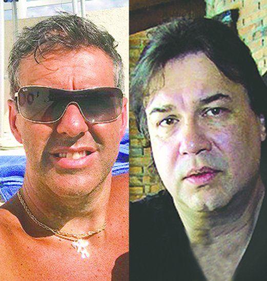 Regis (izq) y González Zelada se declararon la guerra en las redes sociales. Foto: Facebook