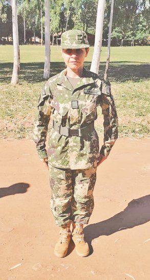 La jueza forma parte de la Primera División de Infantería Centro de Reserva Activa de las Fuerzas Armadas de nuestro país