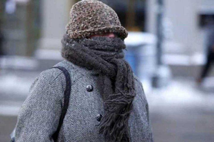 Se esperan temperaturas de hasta 0º.