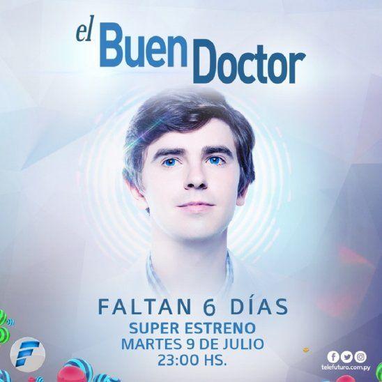Llega a Telefuturo la súper serie El Buen Doctor