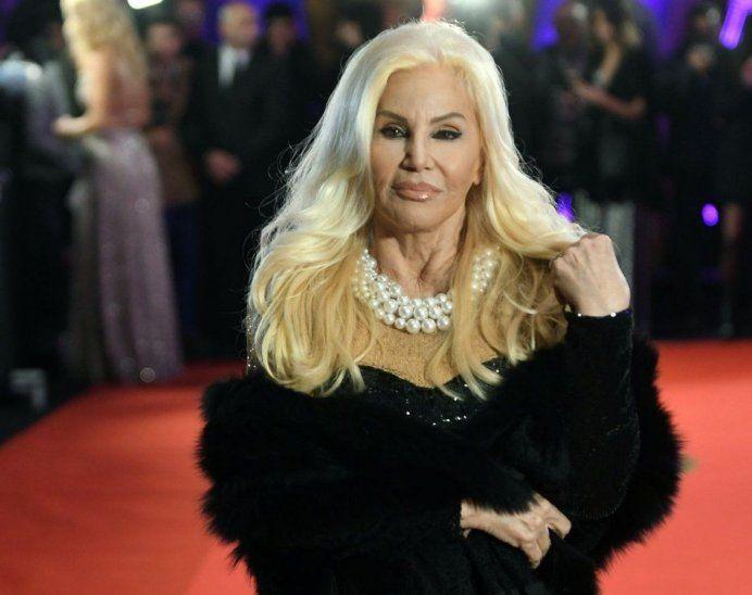 La diva argentina Susana Giménez tiroteó contra el árbitro Mario Díaz de Vivar