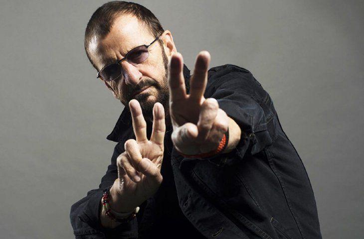 Ringo Starr celebró su cumpleaños 79.