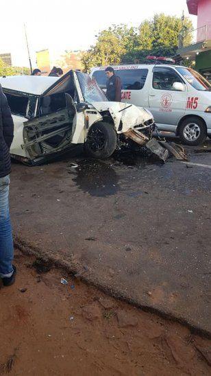 Carrera de autos en San Ignacio dejó un finado