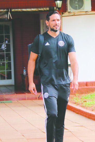 Roque dijo que el equipo está con muchas ganas de seguir haciendo historia. Foto: Prensa Olimpia