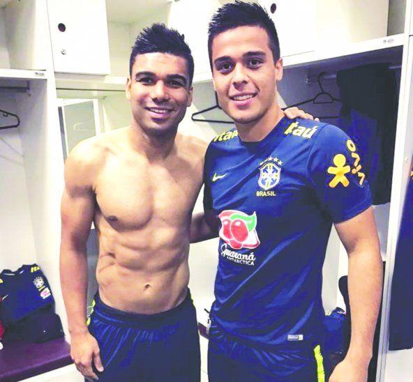 Hugo Sandoval se sacó fotos con estrellas como Casemiro