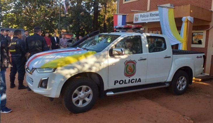 La Comisaría recibió una patrullera.