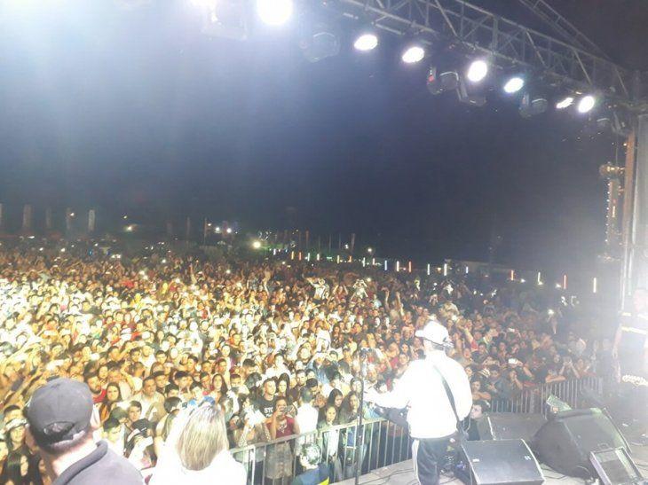 Un marco imponente acompañó al gran show de la mano de Pablito Lezcano. Foto: La Grupera S.A.