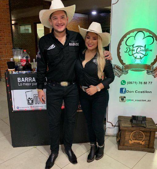 Los tortolitos al Baila.Fátima Román y Junior Rodríguez están listos para participar de la nueva temporada del reality.