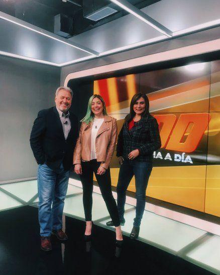 Kassandra Frutos se unió al programa Día a Día