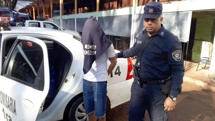 Bogado fue aprehendido por agentes de la Comisaría 1ra.