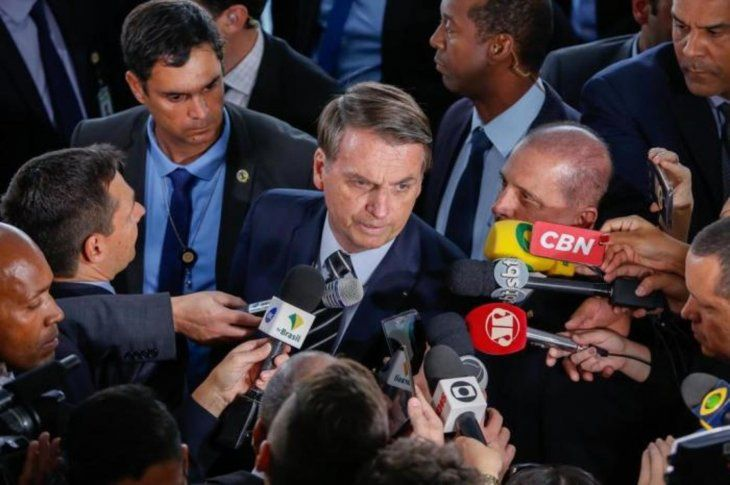 Bolsonaro finalmente está dispuesto a cooperar y volver a reunirse con su par paraguayo. Foto:gauchazh.clicrbs.com.br
