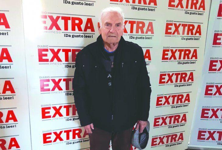 El exarquero solense Alberto Alderete estuvo por Extra y contó una historia imperdible sobre Arsenio Erico. Foto: Miguel Rodríguez