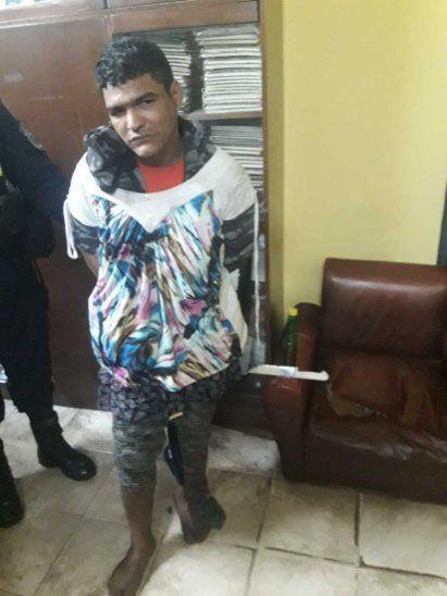 Majin Boo fue detenido en la calle. Se lo buscaba desde hace un mes por otro de sus atracos.