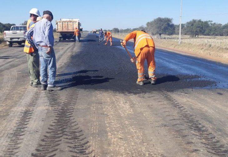 Es la primera vez en la historia que Carmelo Peralta tendrá asfalto. Esto beneficiará a la comunidad.