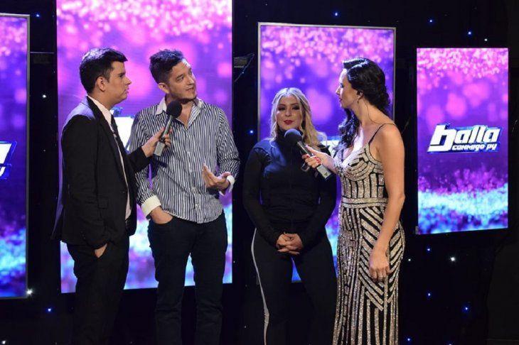 Junior comentó en entrevista con Baila Conmigo Paraguay Online que no se puede aguantar cuando está cerquita de Fátima y se emociona demasiado en los ensayos previos a la competencia.
