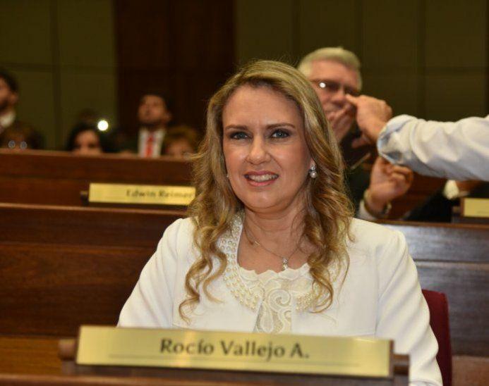La Diputada Rocío Vallejo está en la mira de los masones. Foto: ÚH