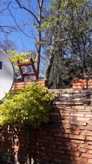 Los ladrones usaron una escalera de la sede del Correo Paraguayo y dejaron en el mismo sitio al huir.
