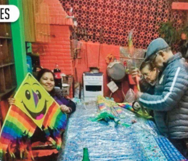 Desde hace siete años organizan la jornada por el Día del Niño.