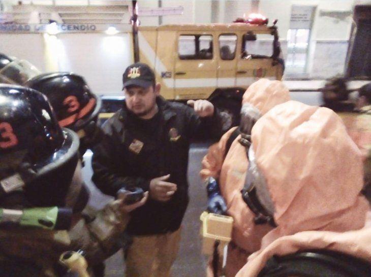 Unas 600 personas fueron evacuadas del Teatro Municipal.