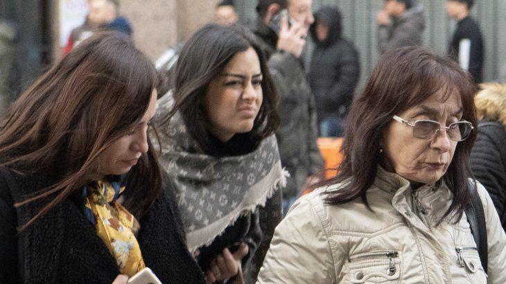 La modelo viajó a la Argentina para estar presente en el inicio del juicio oral de su pareja