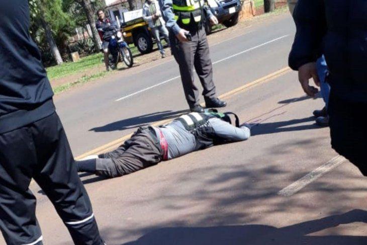 La víctima fallecido tras ser auxiliada al hospital de Encarnación.