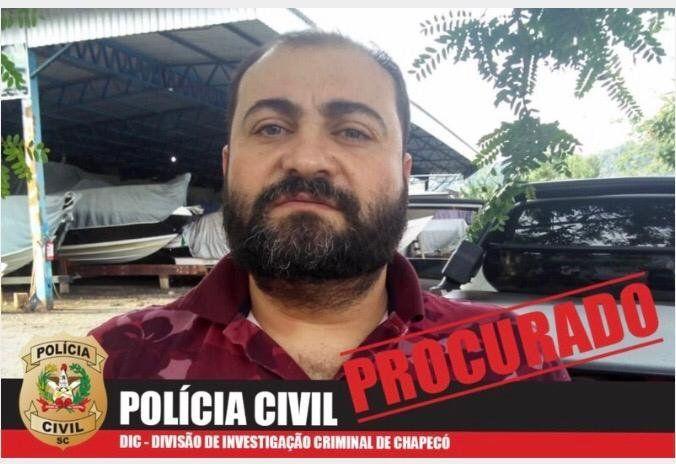 Fabiano Aristides, prófugo,marido de la adivina, fue el que contrató al sicario paraguayo.