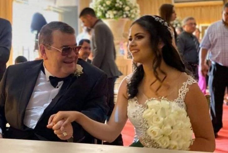 Dos semanas llevan casados Rodolfo Max y Nancy Quintana.