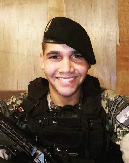 Suboficial de 3ª IM Roberto Abrahan Benítez Cantero, desaparecido (Foto: Gentileza).