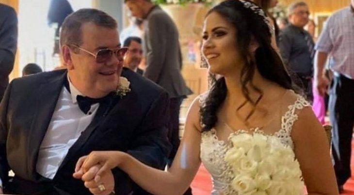 Rodolfo y su esposa Nancy.