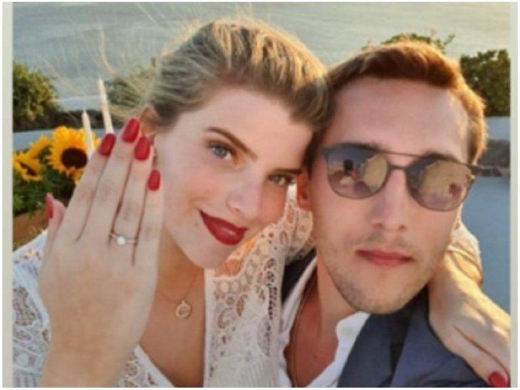 Sol Cartes y Patrick Bendlin se casarán el 20 de junio.