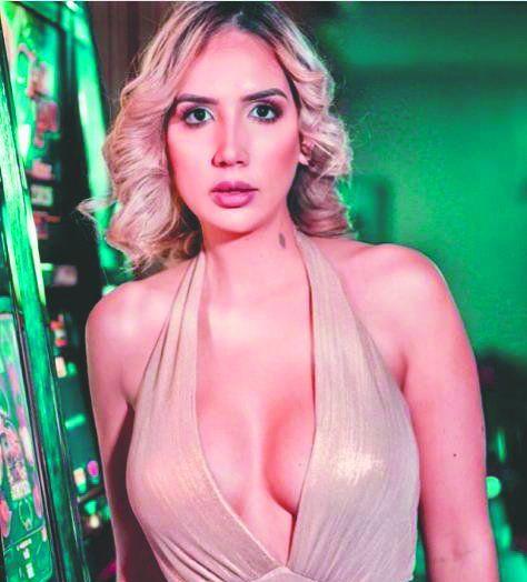 Larissa González, también conocida como la Miss Taxi. lamentó que no se filmara en Ciudad del Este.