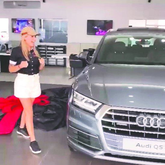 El Audi Q5 que Maga compró cuesta 115.000 dólares,  800 millones de guaraníes aproximadamente.