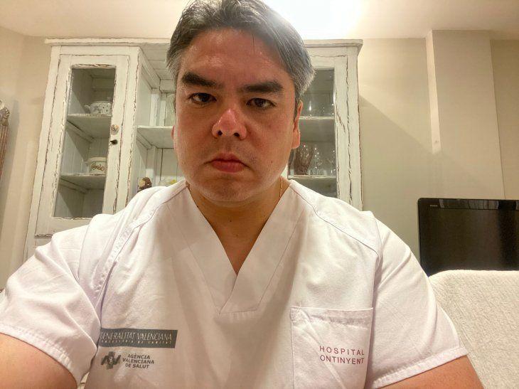 El médico paraguayo estará en nuestro país hasta el 8 de mayo.