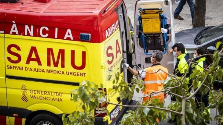 Los paramédicos no pudieron reanimar a la víctima.