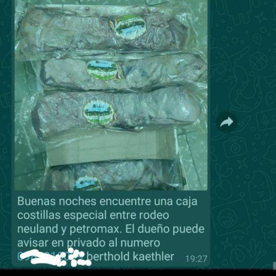Eran 14 kilos de asado que en total le costaron al dueño G. 576.000.