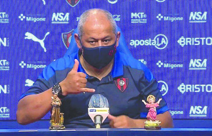 Ovy'aiterei Chiqui No es para menos la felicidad del DT Azulgrana
