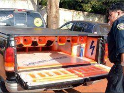 Actualmente, los vehículos que tienen enormes equipos de sonido y circulan con la música a alto volumen son incautados en las barreras policiales (Foto: Paraguay reclama-Facebook).