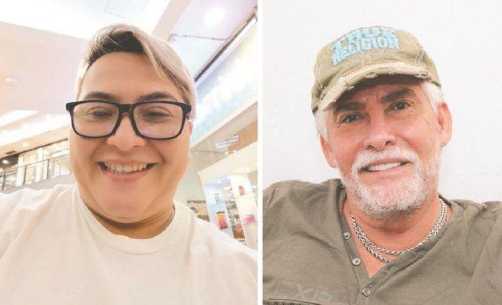 Sandra Molas (derecha) pretende llegar hasta los Estados Unidos para que Carlos Avilés (izquierda) le pague lo que le debe por su trabajo como actriz.