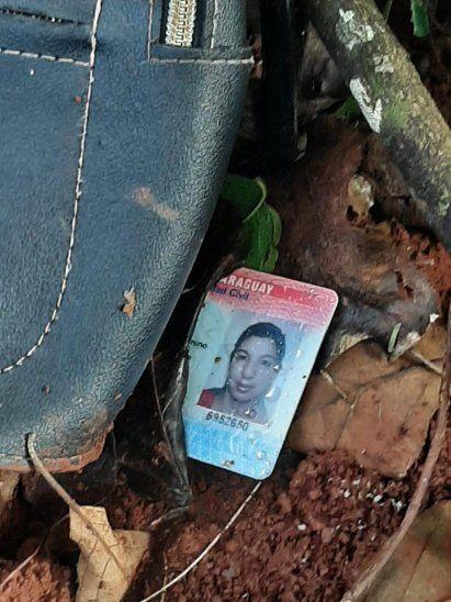 Las pertenencias de la mujer estaban al lado de su cuerpo. El hecho de feminicidio haría ocurrido el domingo.