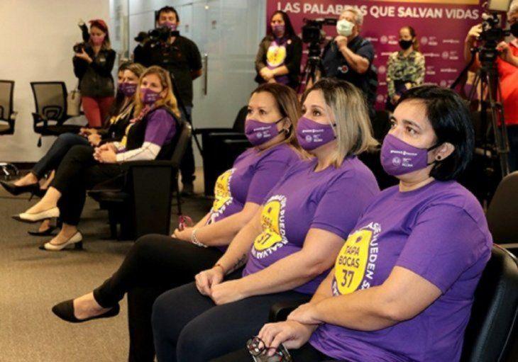 Con la palabra Tapabocas 37 el objetivo es evitar feminicidios.