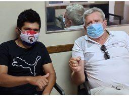 Luis Aníbal Schupp mencionó que Jaka seguirá su tratamiento en el Hospital de Itauguá y recién cuando recupere la vista regresará a San Juan Nepomuceno.