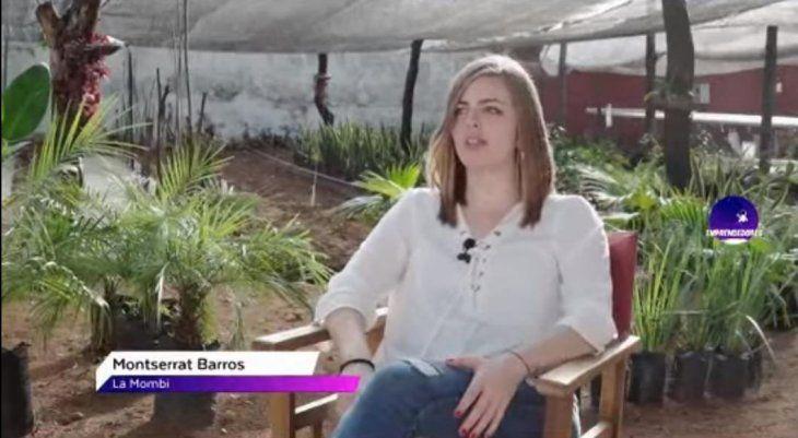 Monse Barros es la dueña del polémico invernadero La Mombi