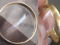 La dueña del anillo irá esta semana hasta Piribebuy para recuperar su alianza que en febrero había perdido. Otros se quedaron con la ilusión de encontrar sus anillos.