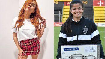 """Nathu González comentó que muchas chicas son las que bajan la caña a las demás. """"Lastimosamente las mismas mujeres a veces son las más machistas"""", señaló sobre la futbolista de Olimpia."""