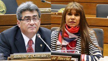"""La diputada Celeste Amarilla lanzó que Roberto González es un misógino y no tiene la preparación para ser legislador. """"Esto para él es normal, así le trata a las mujeres"""", expresó"""
